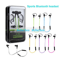 New CSR Waterproof sports Bluetooth earphones Mini in-ear stereo music Bluetooth headset headphones Running sports headset