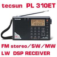TECSUN PL-310ET FM radio Stereo/SW/MW/LW World Band PLL DSP Radio Portable Radio free shipping