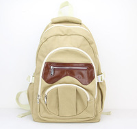 Special Offer Casual Canvas Men's Backpack High Quality All-Match Large Capacity Vintage Travel Bags H005 khaki