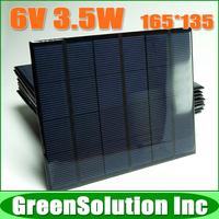 5PCS X 6V 3.5W 600mA Mini Polycrystalline Solar Panel Module Charge for LED Solar Garden Lamp Wall Light Spot Lighting