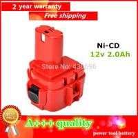 Ni-CD 12v 2.0Ah Replacement  for MAKITA  power tool battery  192698-8/1233/192598-2/638347-8-2/193681-6/1200/1201/1201A/1235