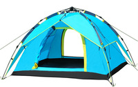 LB0001 Quick Fully Automatic Opening Camping Tent 3-4 persons Double Layers Free Shipping EMS DHL FEDEX Shippment