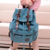 Hotsale Promotion 2015 New Hot Fashion Women's Vintage Canvas Satchel Backpack Shoulder School Bag Travel Bags