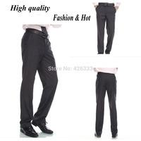 2015 NewMen's Business Suit Pants Spring And Summer Slim Fit Suit Trousers High Quality Zipper Brand Design Suit Pants 13 Colors