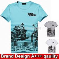 Brands men t-shirt bran design mens t shirts fashion 2014 summer clothing men's t shirts short sleeve tees for men drop shipping