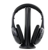 5 in 1 Wireless Headphone Earphone for MP4 PC TV CD MP3