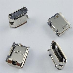 CL Brand New Reliable Great 10 Pcs Micro USB B Female 5 Pin SMT Socket Connectors(China (Mainland))
