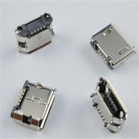 CL Brand New Reliable Great 10 Pcs Micro USB B Female 5 Pin SMT Socket Connectors