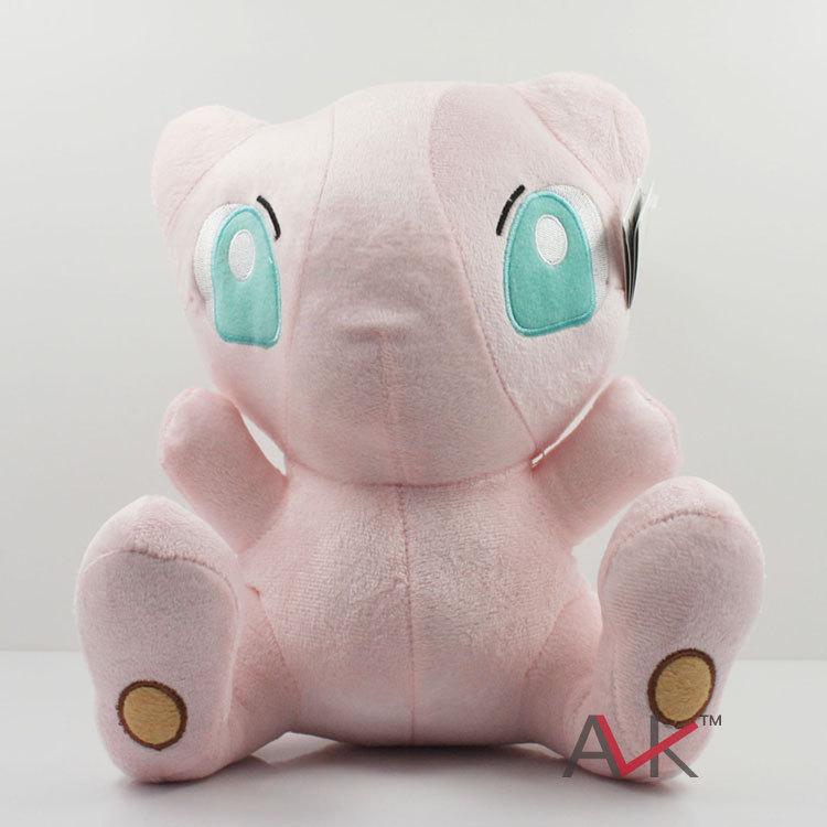 24cm Pokemon baby Soft Stuffed Plush Doll Mew Janpanese Anime Gifts for children free shipping(China (Mainland))