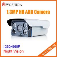 AHD Security Camera 1.3MP Digital HD CCTV Camera 960P Night Vision With IR-CUT Woshida