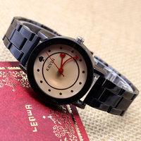 One Piece Stainless Steel Lovers' Watches Men Women Dress Watch Couple Quartz Watch Q25-28