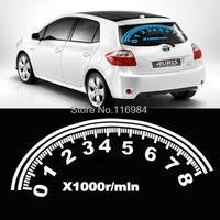 Car Digital Swing Music Rhythm LED Flash Lamp Sound Activated Equalizer 80*30cm
