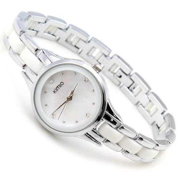 Drop shipping 1pcs Watch Kimio Women Stainless Steel Fashion Popular On Sale Best Price Quartz Watch KIMIO(China (Mainland))