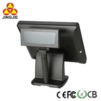 Hot Selling Touch Pos Machine with VFD Customer Display JJ-8000AW