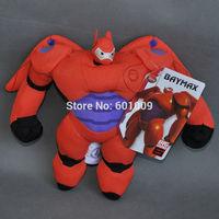 "Free Shipping Big Hero 6~ Doll Stuffed Toy Robot Baymax MECH 7.5"""