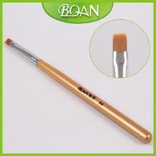 6 BQAN Wood Handle Nail Art Acrylic Brush UV Gel Nail Brush 10pcs lot