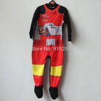 Children boy car  Pyjamas Cartoon Cosplay Costume Pajamas Kids One piece Sleepwear boy fleece sleeper winter homewear