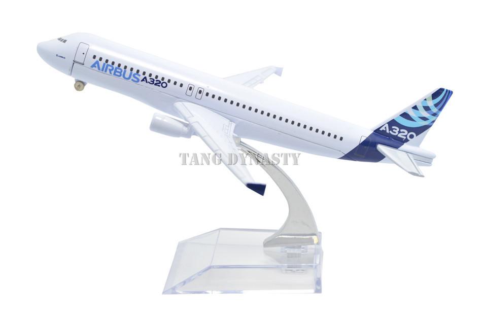 Free shipping!! NEW 1:400 16CM METAL A320 original Retail&Wholesale Plane model toy plane airplane(China (Mainland))