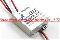 Hobbywing 5V 6V Switchable Hobbywing RC UBEC 8A Max 15A Lowest RF Noise BEC Voltage Regulator