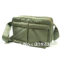 Classic Tokyo Japan Messenger Bag Commuter bag Shoulder bag Handbag Commute bag Hand Bag - Army Green