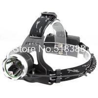 Waterproof 2000 Lumen CREE XM-L T6 LED Headlamp Headlight 3 Mode Adjustable 18650 AAA LED Flashlight Head Light
