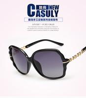 2015 Super extra large frame women lady girl fashion styrish gafas de sol polarized polaroid polarised UV400  sun glasses