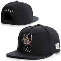 2015 new black Bear cap adjustable brand baseball caps snapback hats for men and women fashion sports hip hop sun cap bone hat
