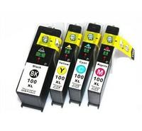 4 ink cartridges compatible lexmark 100 100xl Pinnacle Pro901, Platinum Pro905 Prestige Pro805 Prevail Pro705  Prospect  Pro205