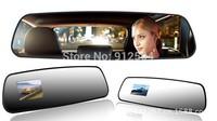 2.7 inch 1080P HD Car Mirror Rearview Car DVR Video Recorder G-sensor Motion Detection