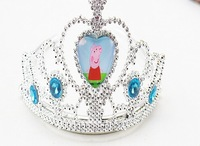 Free shipping 1PCS/LOT peppa pig Children dress up the crown,Party gift zb-001