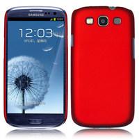 1 Piece Luxury Rubber MATTE Hard Plastic Case Cover For Samsung Galaxy S3 Neo GT-I9301 S3 Duos I9300i i9300 i9308 + Free Film