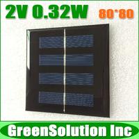 2V 0.32W 160mA Mini Polycrystalline Solar Panel Module Solar System Epoxy Battery Cell DIY Charge
