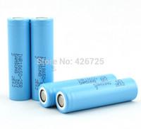 4pcs/lot New Original Samsung INR18650-25R 18650 2500mAh 3.7V li-ion battery batteries for e-cigarette free shipping