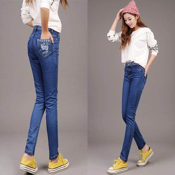 Женские джинсы Jeans DK ] 2015 /elastice #0089 женские джинсы women jeans dk ] 2015 0165