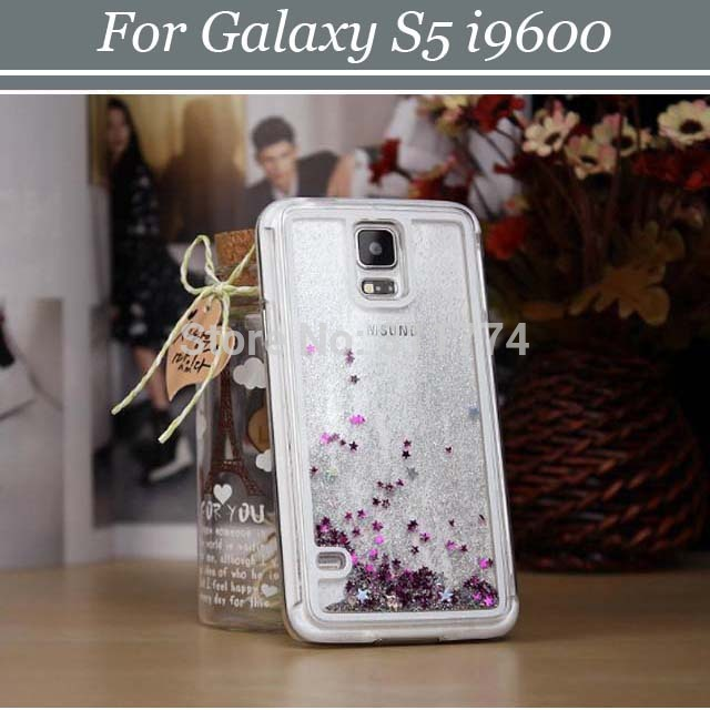 30pcs/lot Free Shipping Meteor Sand Hard Back Shell Case Cover Skin for Samsung Galaxy S5 i9600(China (Mainland))