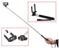 Selfie Rotary Extendable Handheld Camera Tripod Mobile Phone Monopod for Digital Camera Phone i9300 i9500 n9006 n7100 DV