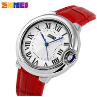 Brand Casual Women Wristwatches Leather Strap Analog Quartz Clock Women Watches Fashion Dress Watch