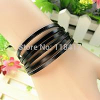 Wholesale vintage genuine leather bracelet  company gift FREE SHIPPING