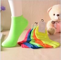 Free Shipping 1 pair 2015 New brand Girl Female Lady Socks Sport Women Socks Brand Socks Bamboo Women's Socks 100% Cotton