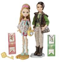 SINO BEST Genuine Original Ever After High Ashlynn Ella & Hunter Huntsman  Dolls For Girls Brand Toys Christmas