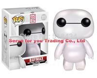 "Big Hero 6 Action Figure 15CM Transform Assemble toys FUNKO POP 6"" Beast corps baymax White PVC Action Figures Toys Classic Toys"