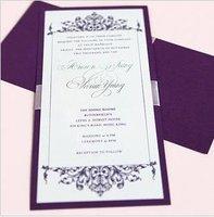 Free--Wholse wedding card (mark Purple)