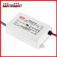25W  MEAN WELL APV-25-12 12VDC LED Power Supply - APV series 120pcs/Carton