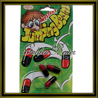 Free shipping somersault pills, novelty toy,50pcs jumping beans