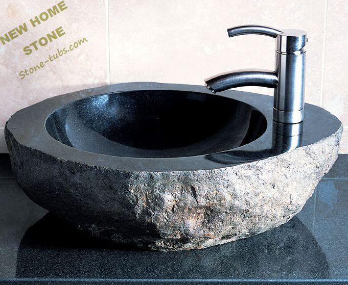 Granite Stone Blocks Granite Rock Stone Sink Bowls