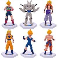 Dragon Ball Kai PVC Figure Loose 6 pcs set toy Cartoon & Anime