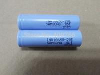 2pcslot New Genuine Samsung INR18650-29E 18650 3.7V 2900mah Battery Batteries For E Cigarette Mechanical Mod Panzer Akuma