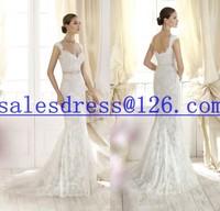 Vestido de noiva 2015 Mermaid Wedding Dresses Sexy Lace Wedding Dress 2015 vestido de renda