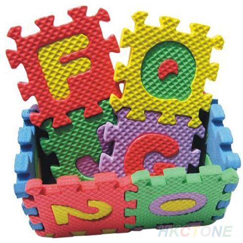 Alphabet Puzzle Mousse Eva