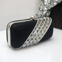 The whole network luxury rhinestone evening bag day clutch crystal small bag women's handbag evening bag